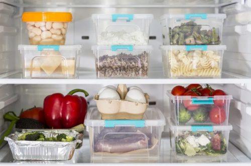 Para la heladera y freezer utilizar separadores
