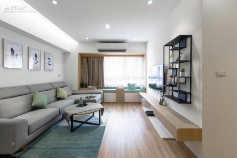 Antes / después moderna transformación de casa