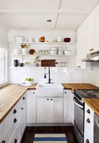 Cocinas pequeñas decoradas con ideas sencillas y baratas