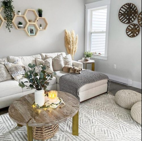 Decoraciones con muebles blancos siempre actuales