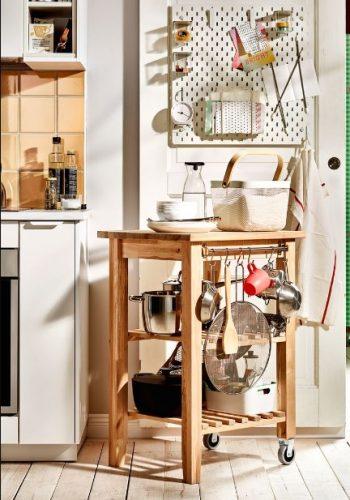 Excelentes ideas de almacenaje en la cocina.