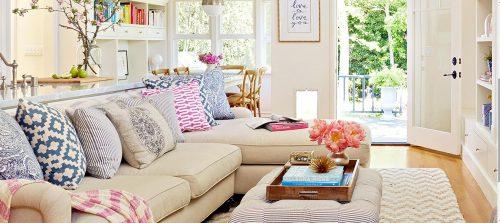 Anímate y dale un nuevo look a tu sala.